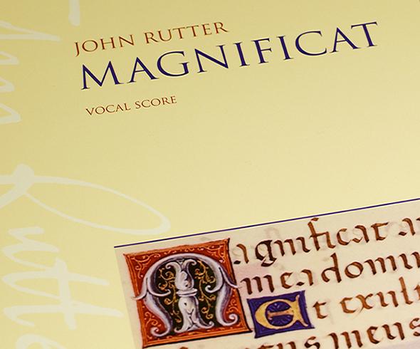 Magnificat Rutter - partitura