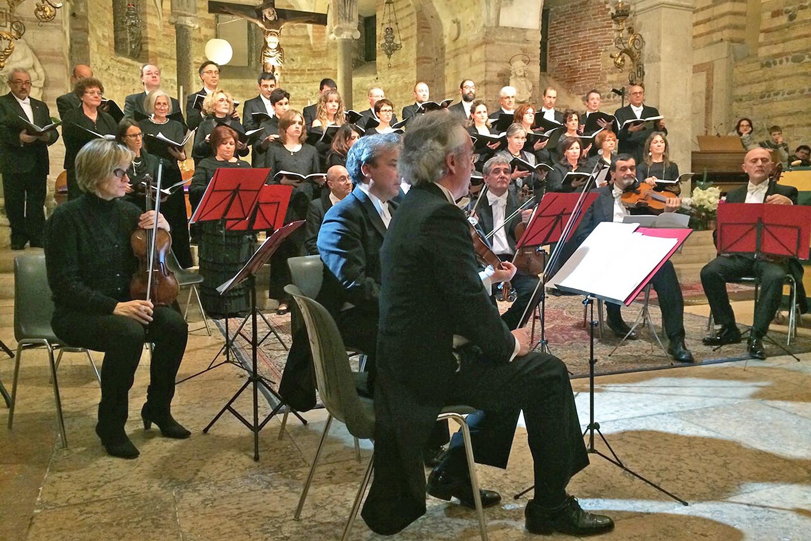 23.12.2014 - Concerto di Natale (chiesa di San Fermo Inferiore, Verona)