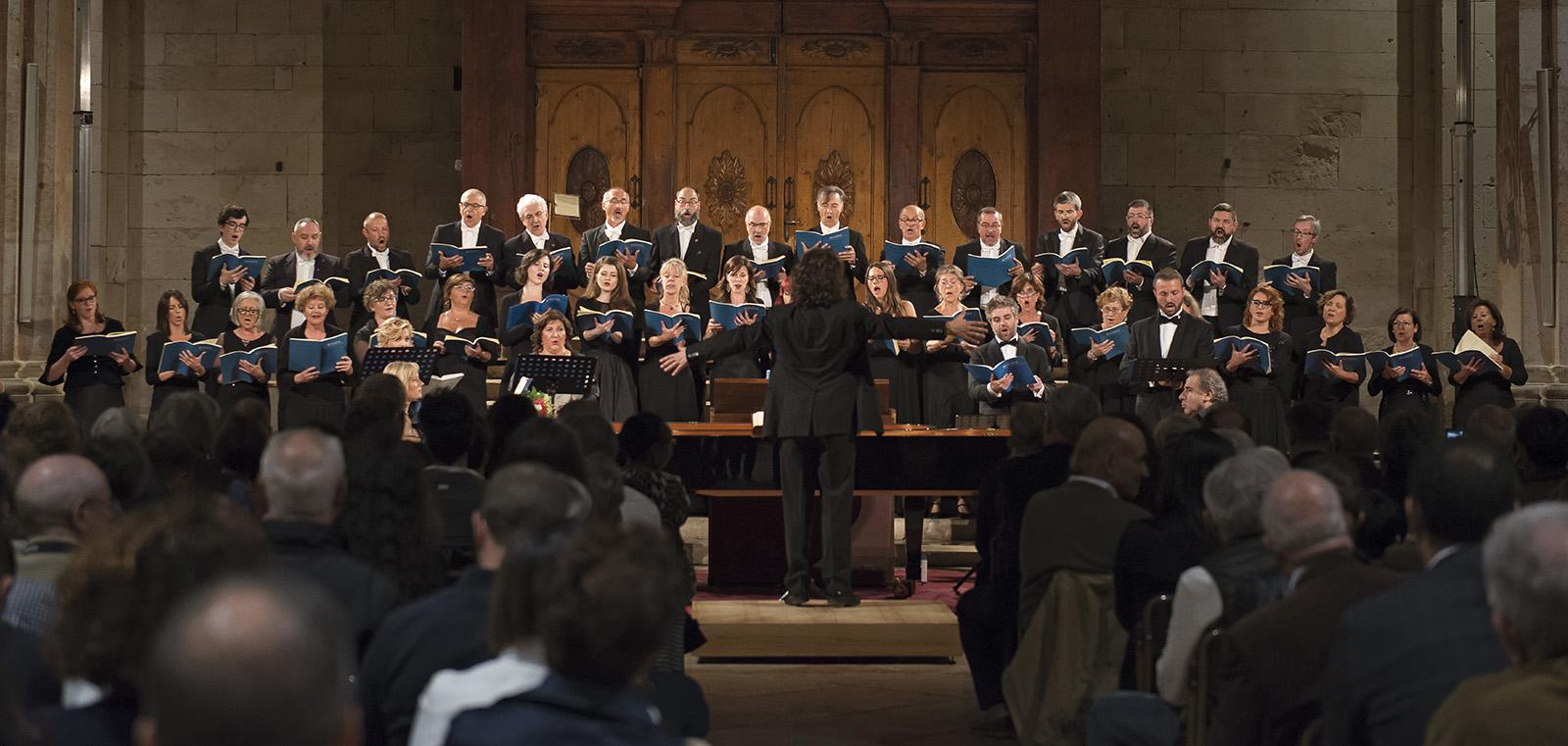 """Coro """"Marc'Antonio Ingegneri"""" - XXVII Settembre dell'Accademia, basilica di San Zeno a Verona"""