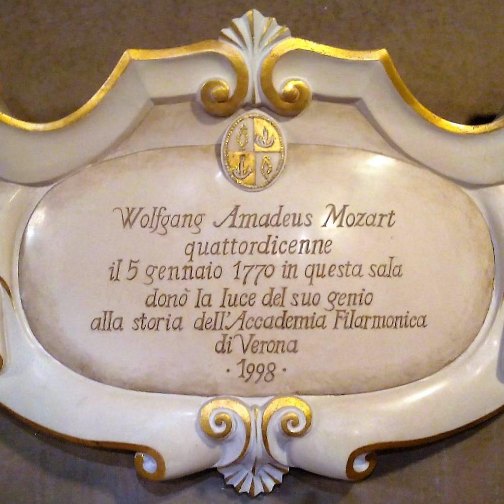 Sala Maffeiana Mozart