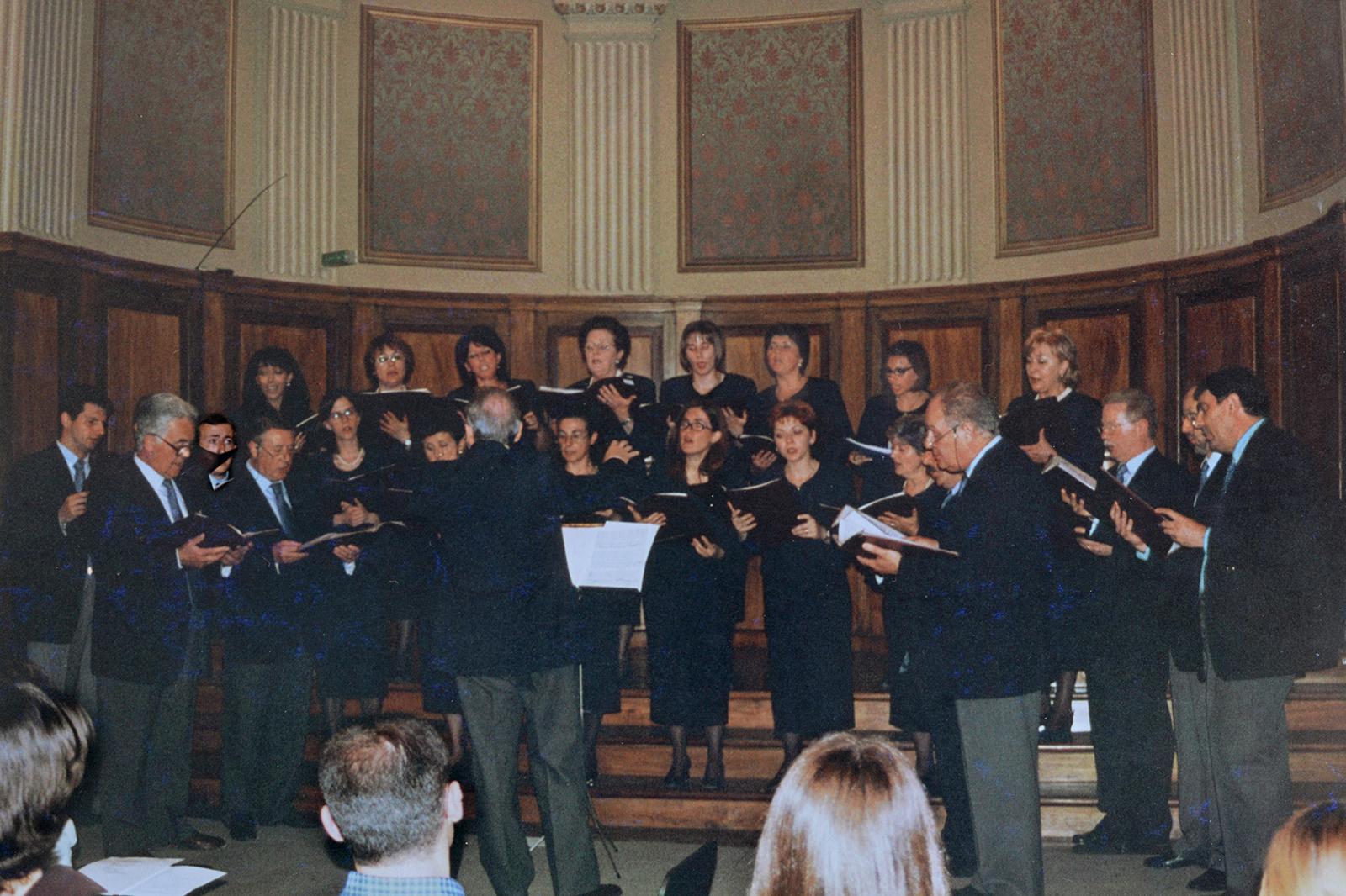 Aula Magna dell'Università di Macerata, maggio 1999